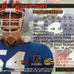 Chris Spielman Buffalo Bills playing card