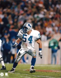 Chris Spielman #54 Detroit Lions