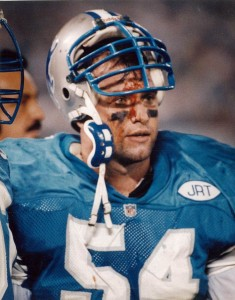 Chris Spielman, #54 Detroit Lions